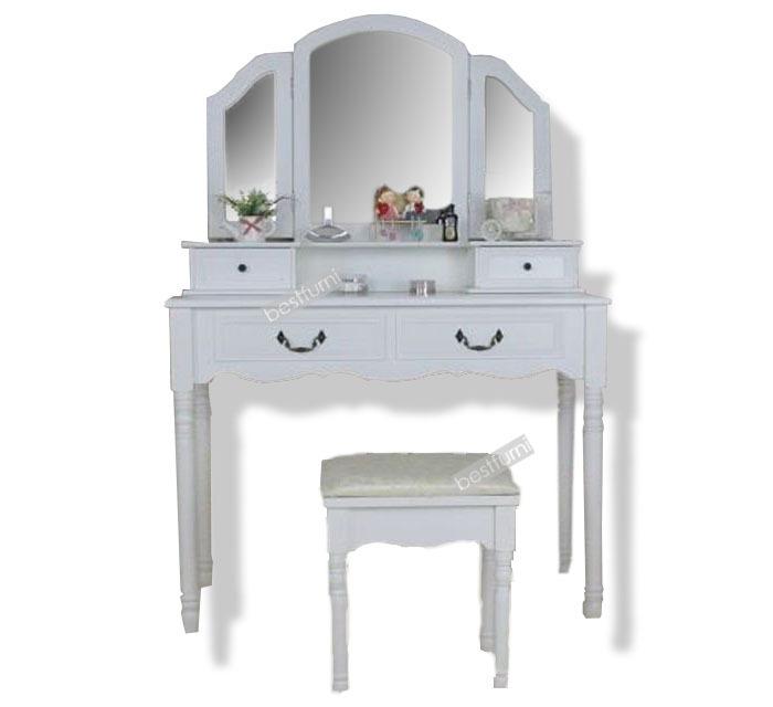 Muebles de dormitorio moderno tocador de maquillaje juegos - Tocador moderno dormitorio ...