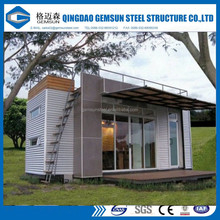 2017 hot sale solid prefab furnishing combined 20ft container tool house eps/pu sandwich panel garden house