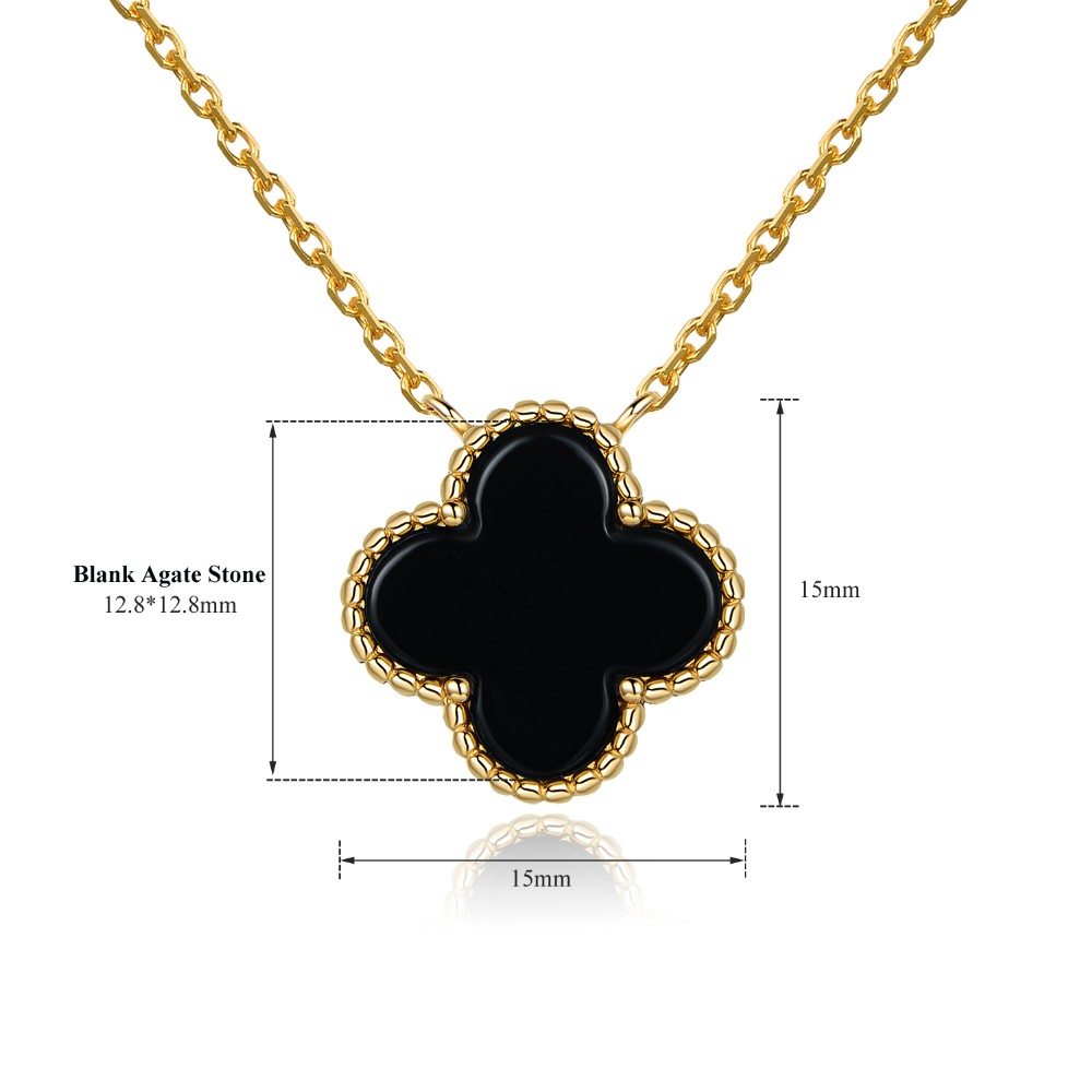 Latest Gold Necklace Set Designs With Cheap Price,Four Leaf Clover ...