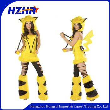 ce5792d9 2017 Hot Sale Anime Cosplay Costume Pokemon Go Sexy Costumesexy Pikachu  Cosplay Costume Sc 1 St Alibaba