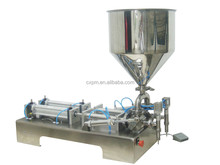 Semi-automatic garlic sauce filling machine