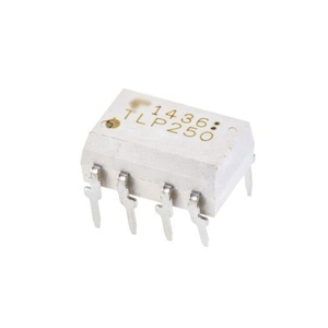 TLP250 Optocoupler with best price Logic-Out Push-Pull DC-IN 1-CH 8-Pin PDIP - Rail/Tube Electronic Components Supplies China