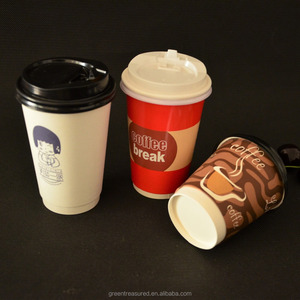 8 Oz White Disposable Coffee Foam Cups Hot and Cold Drink Cup