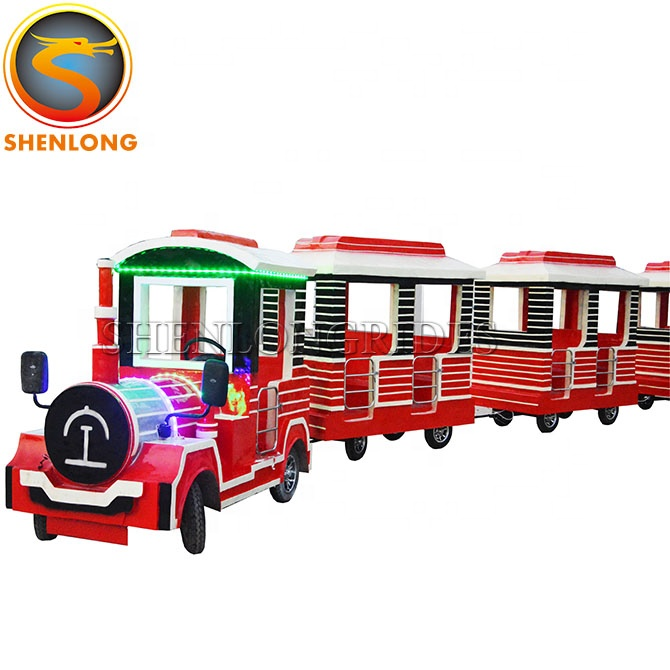 China manufacturer direct amusement park rides road ride trackless train ride for sale