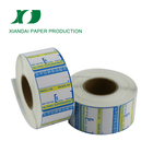Latest Turkey Brands printing label blank sticker 210mm*48mm factory price can be label roll