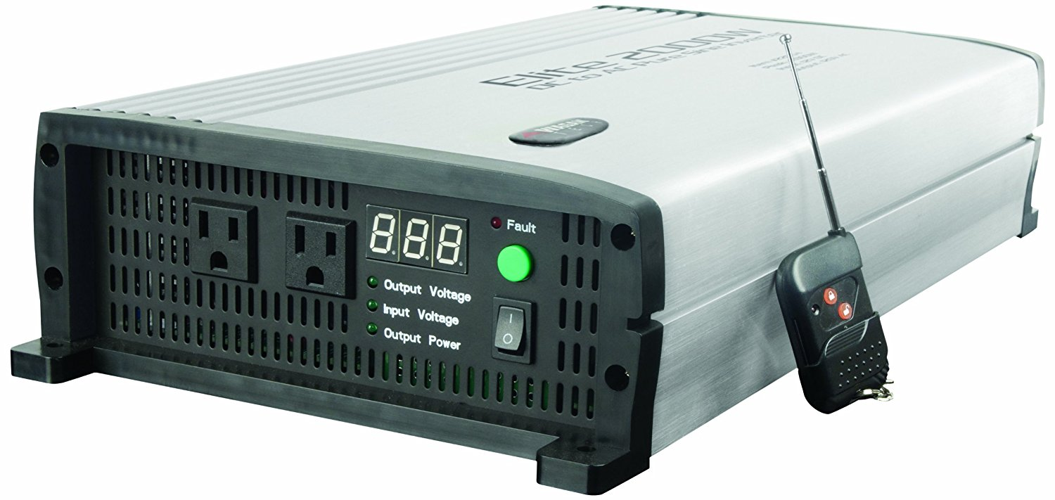 Wagan EL2205 Elite 2000W Pure Sine Wave Inverter