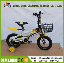 New Freestyle mini bmx kids bike / unique Sports style children mountain bicycle / Four wheels 14 inch kids bicycle for sale