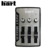 Taiwan Just Mixer 2 Silver 120V 3.5mm Stereo 3 Channels Sound USB Audio Mixer