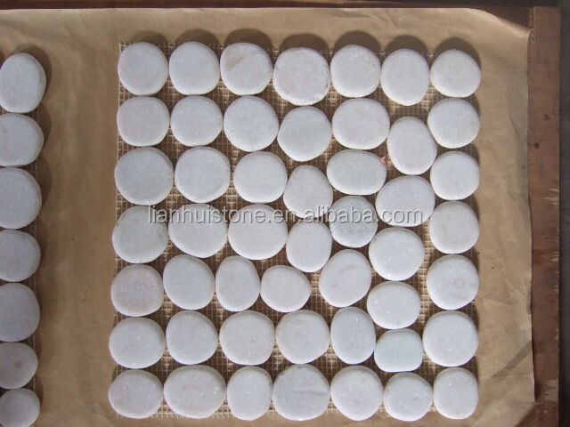 Kiezel Mozaiek Badkamer : Lichtgroen met wit kiezel mozaïek gekweekte steen mozaïek buy