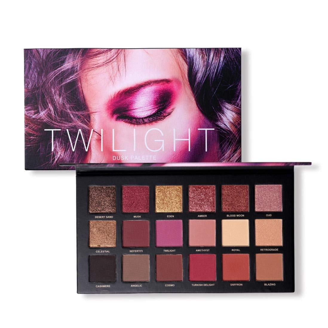 AutumnFall Eyeshadow Palette,UCANBE 18 Colors Eye Shadow Makeup Cosmetic Matte Shimmer Eyeshadow Blush Lip Gloss Powder For Beauty (Multicolor)