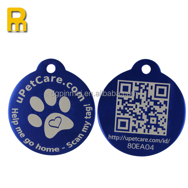 2015 pvc nfc tags with qr code for smart phone