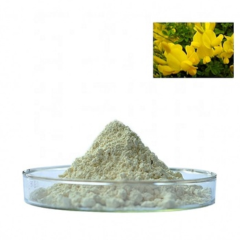 Direct supply natural 98% genistein  powder for pharmaceutical