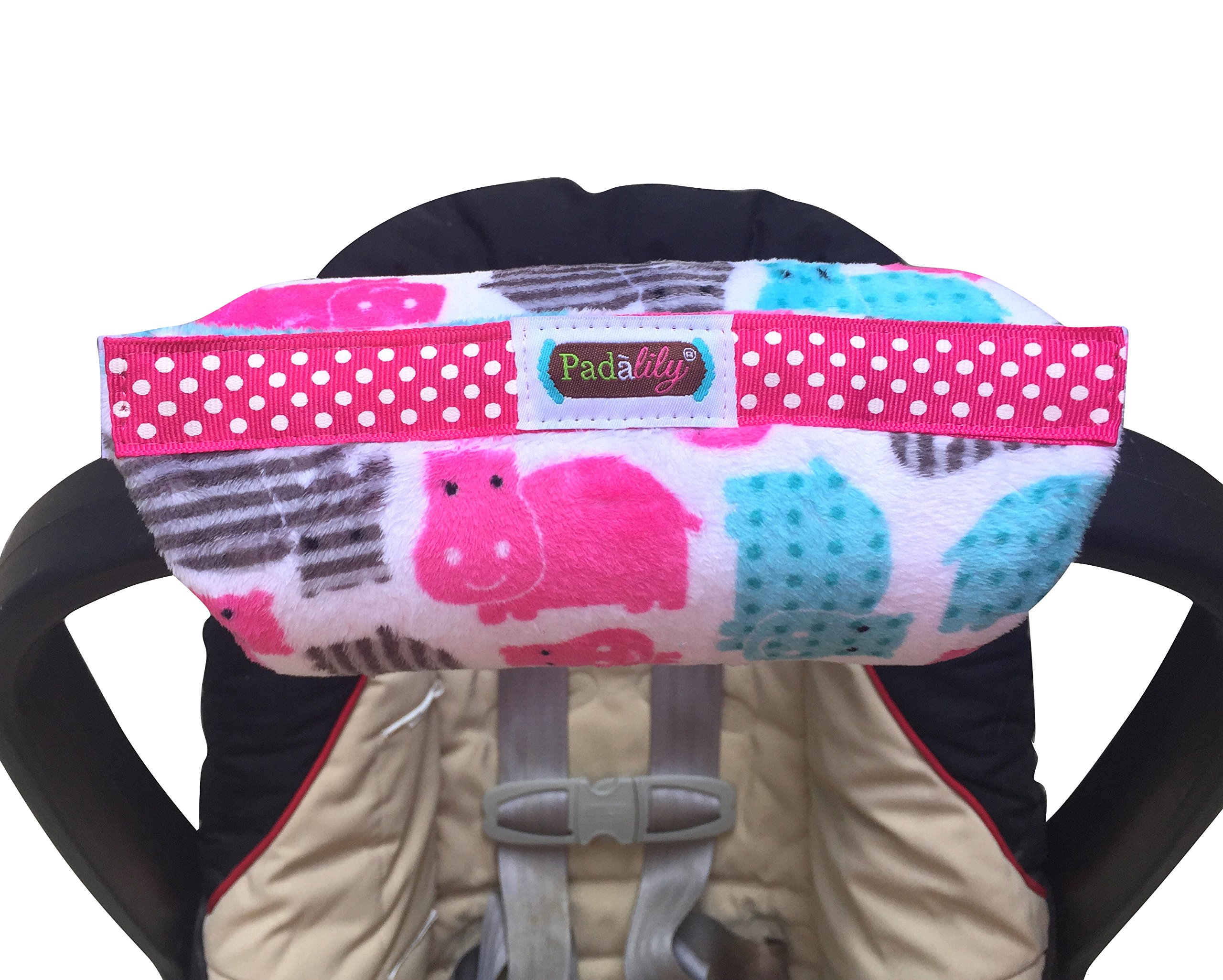 Get Quotations Padalily The Original Car Seat Handle Cushion Pad Pillow Newborn 0 12 Months