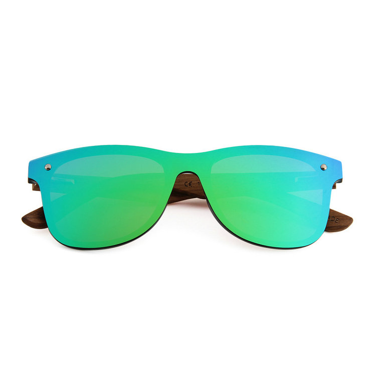 Popular one custom polarized lens wooden sunglasses wholesale in China