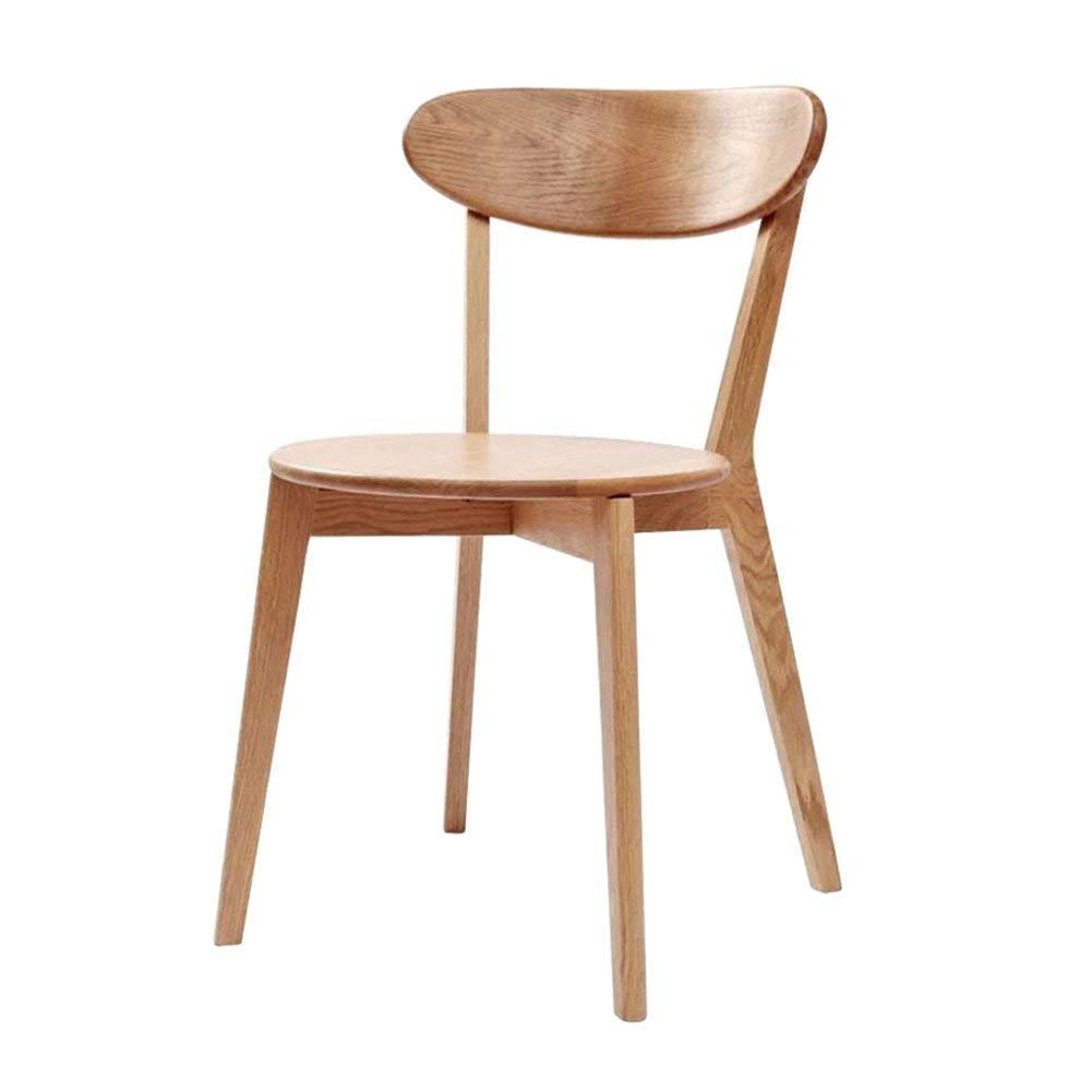 LQQFF Solid Wood Dining Chair, Modern Minimalist Chair, Computer Chair, Casual Fashion Office Chair. - Dining Chair