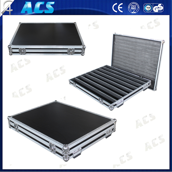 ACS Medium Aluminum Storage Case/Black Large Truck Pack Case/Aluminum Utility Tool Boxes