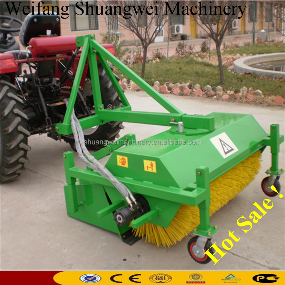 Best quality Tractor mounted tow road sweeper