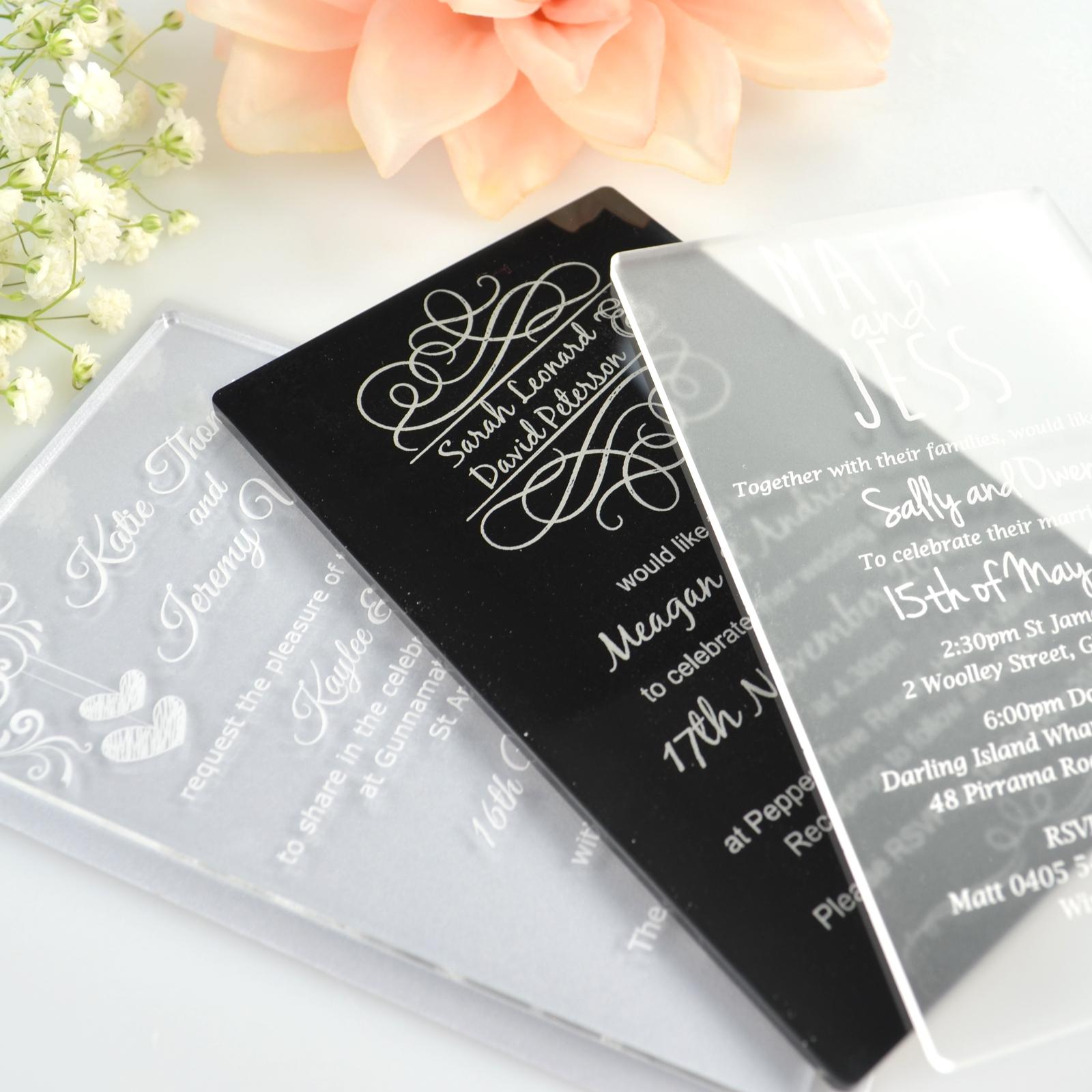 Wholesale Elegant Cheap Acrylic Wedding Invitation Buy Acrylic Wedding Invitation Acrylic Wedding Invitation Card Acrylic Invitation Wedding Product