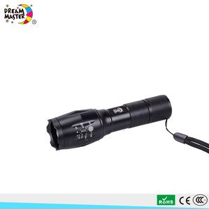 Hot Sale Rechargeable Tactical LED Flashlight Portable Zoom Focus LED Torch Light