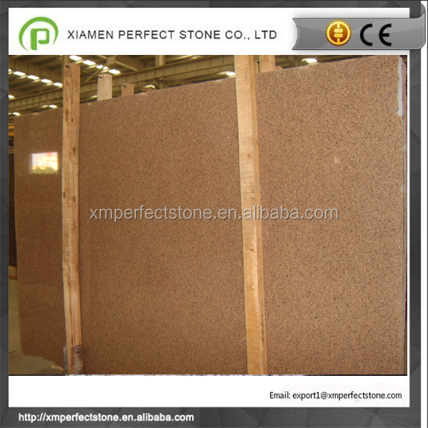 Desert brown granite stone tile and countertop