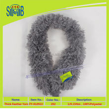 cheap air freight from china Wholesale High quality winter fancy yarn for soft faux fur scarf