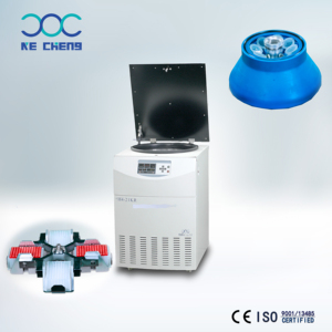 CE ISO9001 Approved H4-21KR Floor Type High Speed Refrigerated Large Volume Centrifuge Machine for lab