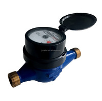 brass body water meter price with modbus water flow meter