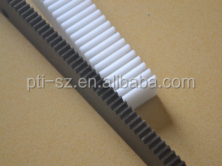 Machining work spur rack gear for packing list