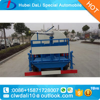 dongfeng 4*2 3.4ton water tank truck with 6 wheels
