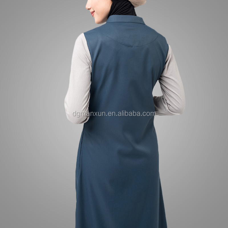 2017 Wholesale high quality islamic sportswear new models dubai abaya muslim sports suit