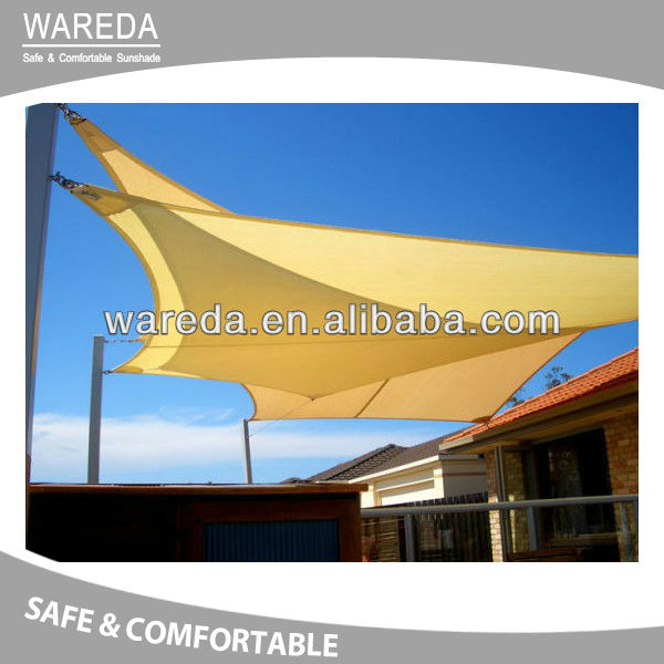 HDPE New Design Sun Shade Sail Awning