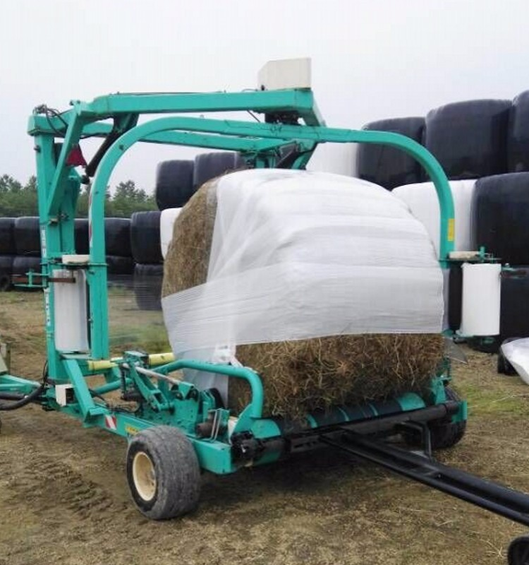 100% Raw material PE corn silage wrap film for use