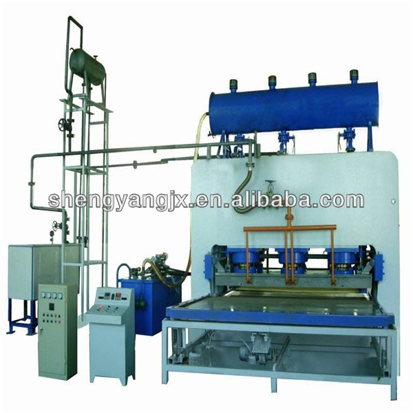 Laminated floor production line Short Cycle Laminating press line