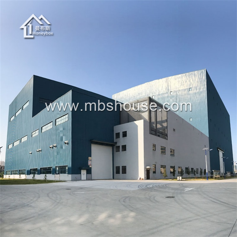 Construction design steel structure warehouse workshop