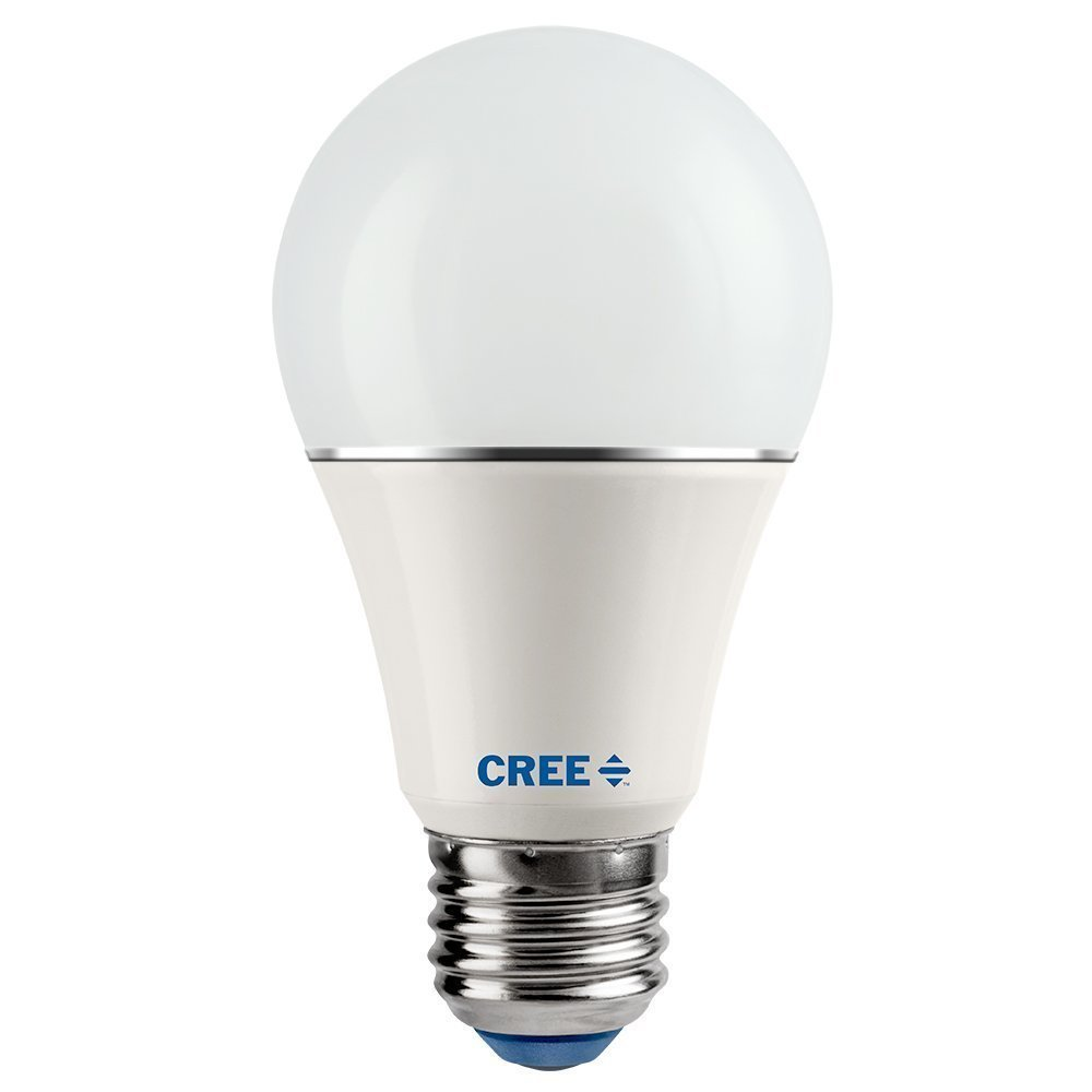 Cree 8 Pack SA19-08127MDFD-12DE26-1-14 LED 60W Replacement A19 Soft White (2700K) Dimmable Light Bulb