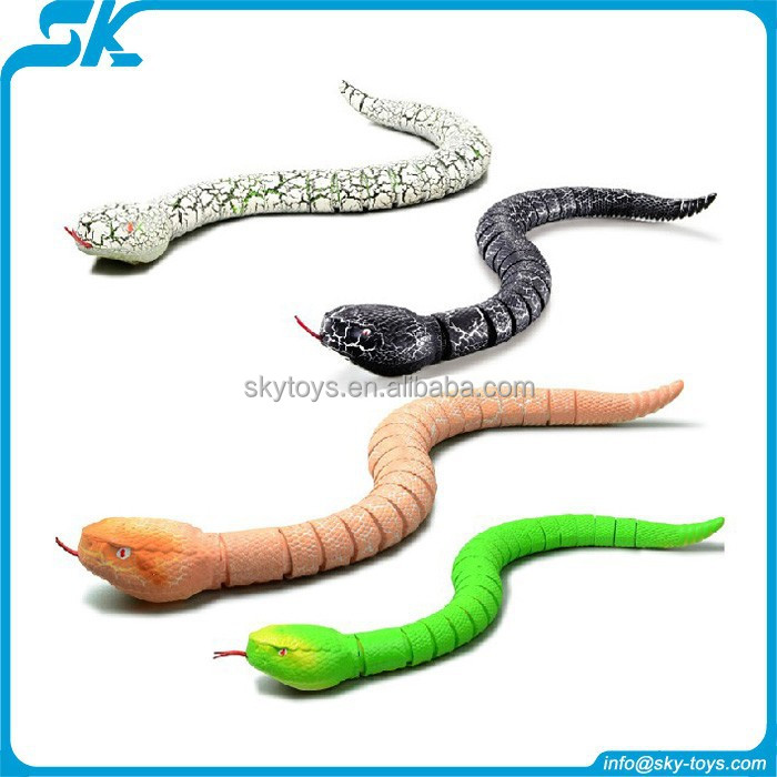 !RC infrared snake radio control mini snake rc animal electronic toy snakes