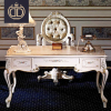 luxury classic wooden hand carved office table desk design home study room executive solid wood office table