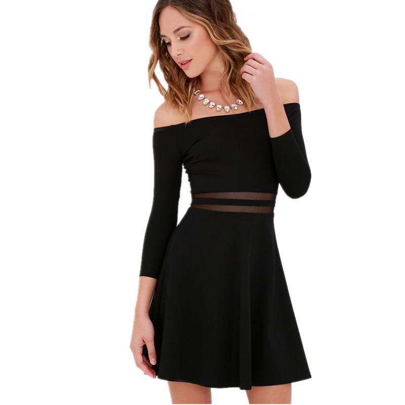 Ver una mujer vestida de negro