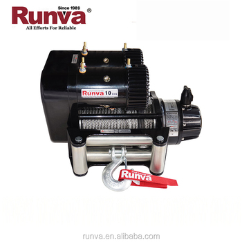 Runva 4x4 off road 10000 lbs electric cable pulling winch machine for Jeep, Truck&Suv
