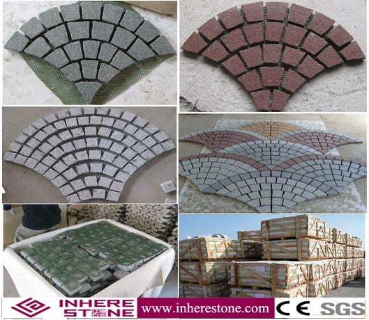 hot sale paving stone type cobblestone pavers - Cobblestone Pavers