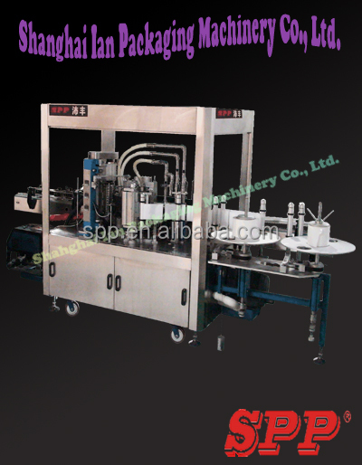 Automatic Hot Melt Glue Wrap Around Label Applicator Machine