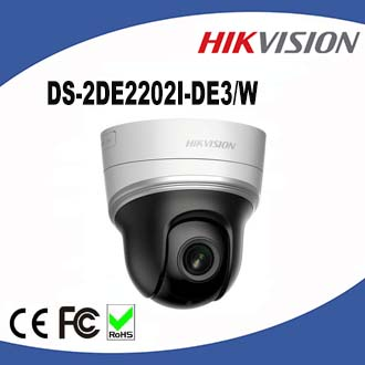 DS-2DE2202I-DE3W Hikvision 2MP Mini IP PTZ IR Up to 20m IR distanceg Support WiFi
