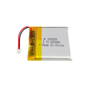 Small lithium polymer battery 3.7V square cell 503535 li ion 600mah battery lipo battery