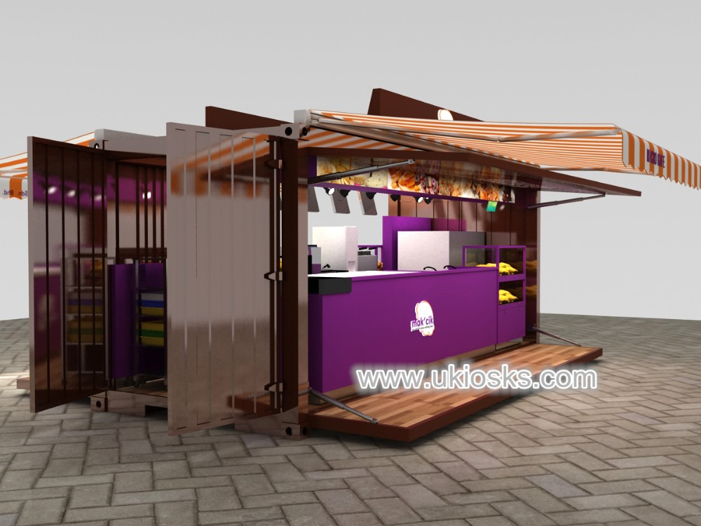 Popular container coffee shop design for sale