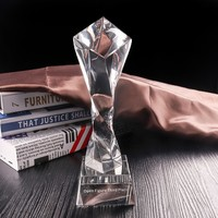 Top Sell China Manufacturer Cheap Custom Oscar Crystal Trophy