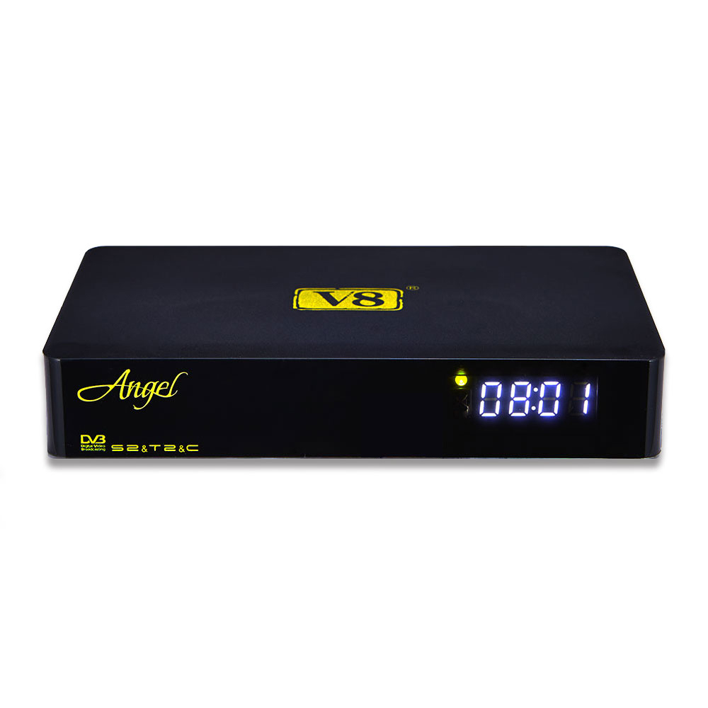 Amlogic S805 H265 DVB S2 T2 v8 angel <strong>satellite</strong> tv receiver
