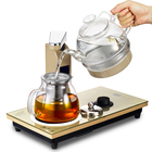2019 Trending Glass Kitchen Product Automatic Temperature Control Instant Smart Electrical Kettle Tea Heater Keep Warm Plate