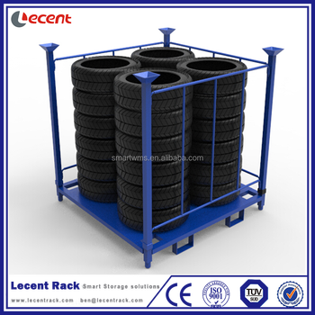 China Supplier Powder Coating Collapsible Stackable Semi Trailer Amazing Powder Coating Racks Suppliers
