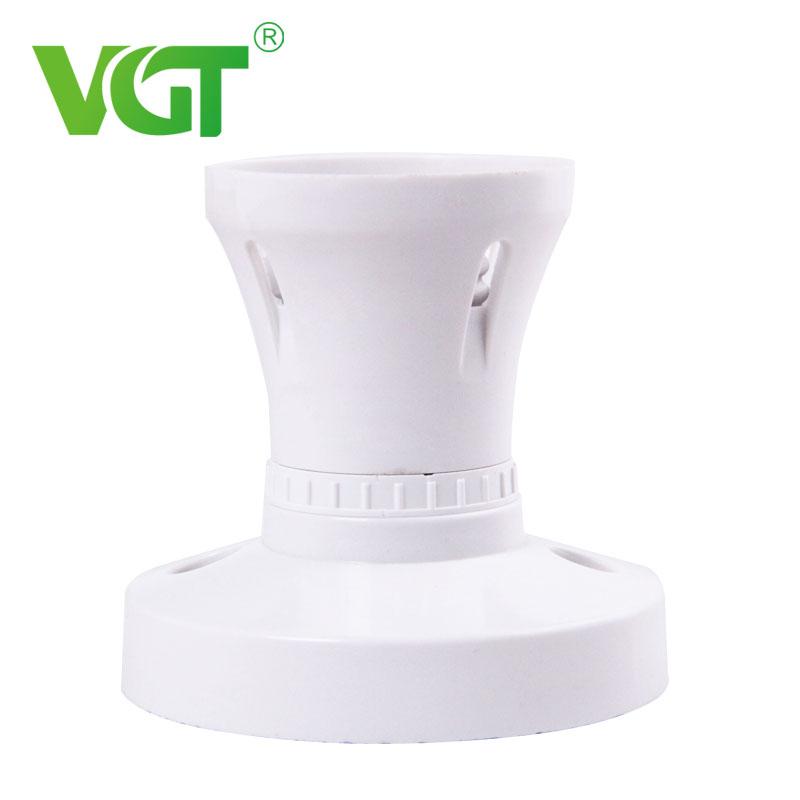 Lighting Bulb Accessories White Bakelite E27 Straight Base Socket Lampholder