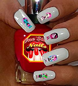 Buy Monster High Nail Decals For You Set Of 62 Clear Waterslide